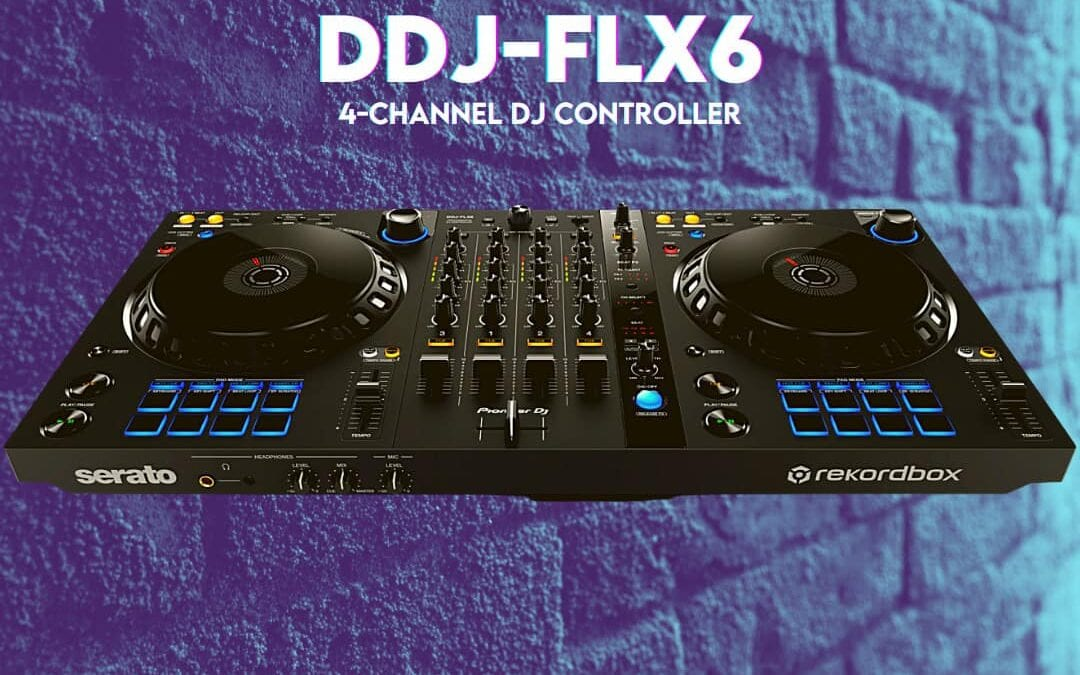 Pioneer DJ DDJ-FLX6 4-Channel Controller for Serato and rekordbox  – First Look & Review