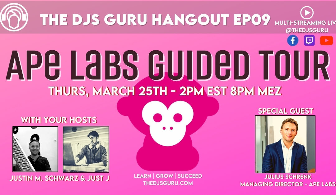 Ape Labs Guided Tour with The DJs Guru and Julius Schrenk