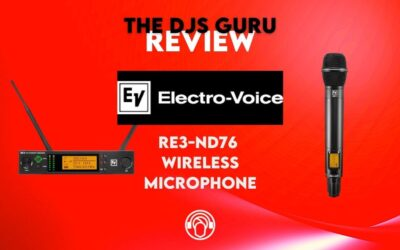 Electro-Voice RE3-ND76 6M Review – Best wireless microphone system under $600?
