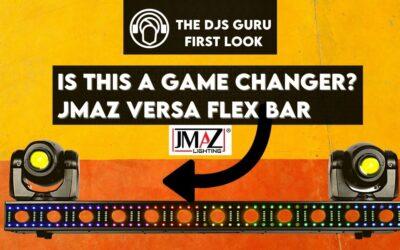 JMAZ Lighting Versa Flex Bar – A Game-Changer For DJs?