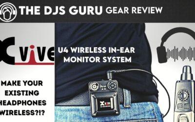 XVive U4 Review | Make Your DJ Headphones Wireless